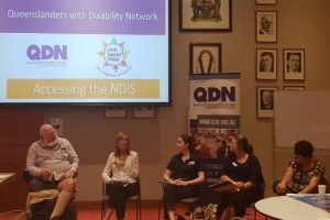 "Cairns LSG Members attending the ""Accessing the NDIS"" group"
