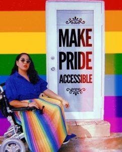 Annie Segarra, American disability and LGBTQIA+ advocate